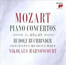 Mozart: Pno Cto Nos 23 & 25, New Music