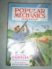 Popular Mechanics - Jan. 1956 - RAMBLER - HOT-LINE MEN