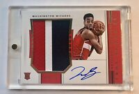2018-19 National Treasures Troy Brown Jr. RC -3 Color Horizontal Auto 46/49 RPA