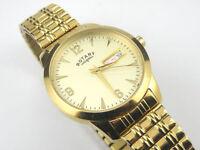 Rotary Men's Quartz Gold Dress Watch