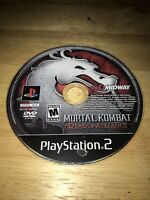 Mortal Kombat: Deadly Alliance (Sony PlayStation 2, 2002) Working Game Only
