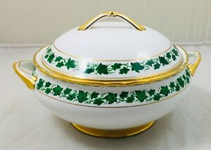 Tuscan - Green Ivy - vegetable tureen and lid