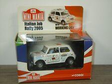 Mini Italian Job Rally 2005 - Corgi CC82247 - 1:36 in Box *44360