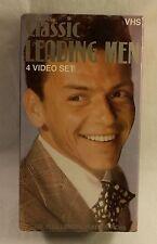 Classic Leading Men VHS 4 Tape Box Set Sinatra / Cagney / Grant / Stewart