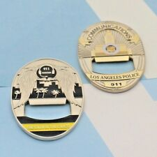 Navy Insignia Bottle Opener Challenge Coin by Eagle Crest Colección