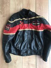 Helston Vintage Biker Leather Blouson Moto Taille L