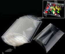 25pcs PVC Candy Box Favor Box Plastic Pillow Style Chocolate Sweet Wedding Party