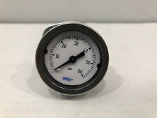 Wika Pressure Gauge Dial 0 - 60 PSI