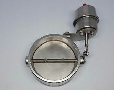 """Loudvalves 4"""" boost activated exhaust cutout, dump, Stainless Steel"""