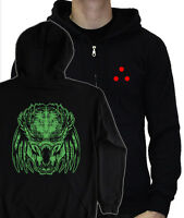 PREDATOR HEAD hoody - retro movie arnie hoodie jungle alien laser lazer S - 5XL