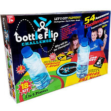 18PC BOTTLE FLIP GAME BOARD KIDS FUN FAMILY 54 CHALLENGES 6 PLAYERS XMAS GIFT