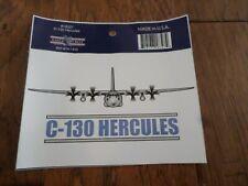 U.S Military Air Force C-130 Hercules Plane Window Decal Bumper Sticker