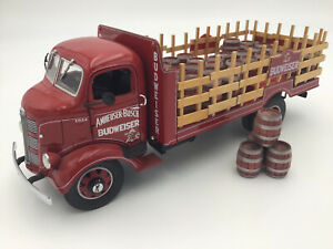 Danbury Mint 1938 GMC Budweiser Stake Bed Delivery Truck, Excellent Condition