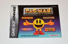 Pac-Man Collection Nintendo Gameboy Advance MANUAL ONLY