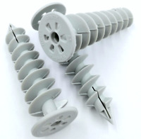 50/85 mm Hartschaumdübel Schneckendübel Spiraldübel Dämmstoffdübel 10 50 100 St.