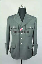 WWII German Elite M34 Officer Stone Grey Gabardine Dress Tunic
