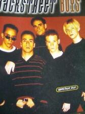 Backstreet Boys Music Book (1997) Quit Playing Games