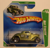 Hot Wheels Car 2009 TREASURE HUNT Green Neet Streeter 54/166 Short Card T HUNT