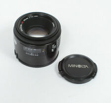 50MM 50/1.7 MINOLTA MAXXUM/SONY ALPHA AF, INCLUDES CAPS/158583