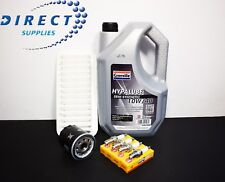 TOYOTA YARIS 1.0 16V SERVICE KIT 99-06 AIR / OIL FILTERS, NGK PLUGS, ENGINE OIL