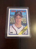 1988 Topps Tom Glavine Atlanta Braves #779 Baseball Rookie Card RC MLB HOF MINT