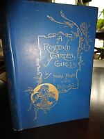 A Rosebud garden of Girls-Perry- 1893 - Illus. Attractive Collectible-Gilt Cover