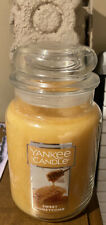Yankee Candle Large Jar Sweet Honeycomb Shipped Safely In Box