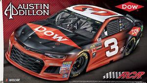 Austin Dillon #3 NASCAR Deluxe Grommet Flag Licensed Racing Banner 3' x 5'