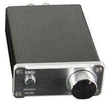 SMSL SA-50 2x50W D-AMP TDA7492 Hi-Fi Stereo Amplifier   Power Adapter - Sliver