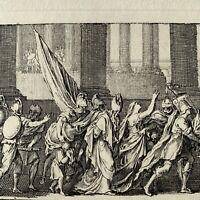 Sebastien Le Clerc gravure eau forte etching Annales De Toulouse De Dufaille