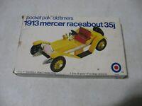 Pocket Pak Old Timers 1913 Mercer Raceabout 35j 1/43 Scale Model Kit #8462T