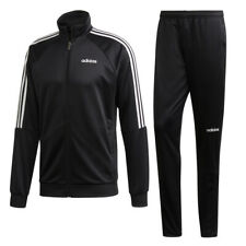 Adidas Mens Tracksuit Sereno 19 Bottom Top Full Tracksuits Black White