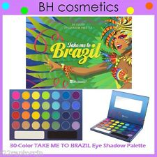 NEW BH Cosmetics 30-Color TAKE ME TO BRAZIL Eye Shadow Palette FREE SHIPPING NIB