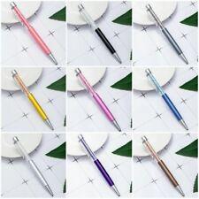 Novelty Rainbow Crystal Diamond Pen Ballpoint Pens Office School Stationery