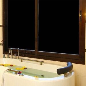Opaque Black Decorative Window Film Glass Door Window Sticker Privacy Home Decor