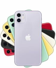 Apple iPhone 11 64/128/256GB White Black Red Green Yellow Purple GSM Unlocked