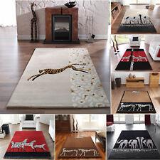 Moderner Designer Teppich Kalahari - Afrika Motive - 7 Dessins / 4 Größen Neu