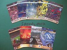 Panini Adrenalyn FIFA 365 alle all 12th man 9 Komplett complete Fan Cards