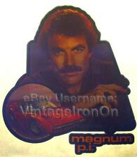 80s HI Tom Selleck Magnum P.I. Ferrari TV Show Orig vtg t-Shirt Iron-On Transfer