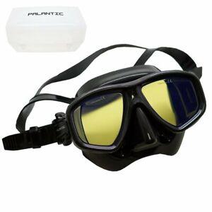 Scuba Choice Coated Anti-UV NEARSIGHTED Prescription Dive Mask, Black