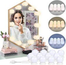 12 Ampoules 10 luminosité, Lumière de miroir maquillage Hollywood