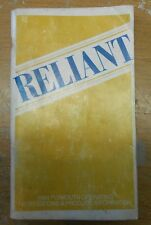 1984 Plymouth Reliant Owners Manual