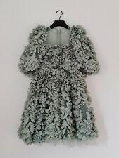 H&M HM Consciente Exclusivo AW2020 Flor cubierto de tela vestido UK6 34 euros raras