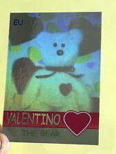 Ty Beanie Babies Trading Card EU Valentino The Bear Hologram, Series 2 (160/720)
