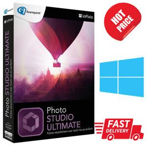Inpixio Photo Studio Ultimate 10✔️Windows✔️Lifetime Activation✔️Fast delivery