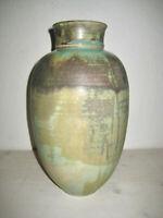 Studiokeramik Vase Reduktionsglasur 30cm Vase Mid Century Pottery Interieur