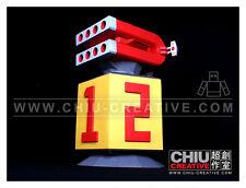 Combattler V base -Tissue box Cover - DIY 3D Paper Model Robot non-POPY chogokin