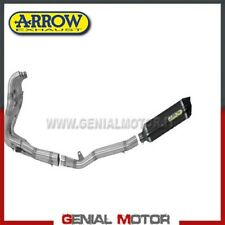 Full Exhaust Arrow Race tech AKN Aluminium Black Kawasaki Zx-6R 2012 12