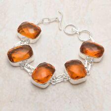 Honey Citrine Ethnic Handmade Bracelet Jewelry 34 Gms AB 91509