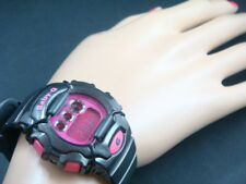 Casio Baby G BG1006SA-1 Wrist Watch with metallic Black band with pink dial